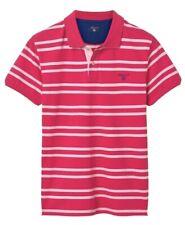 Gant 3-col Contrast Pique Rugger 3XL Polo Shirt Red 2052015/615