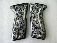 New Flora Design Mother Of Pearl Inlay Grip For Beretta 92, 96, M9 Full Size
