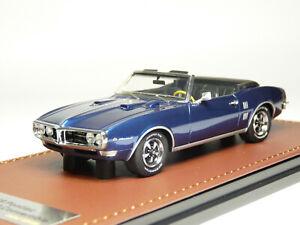 GLM 191005 1/43 1968 Pontiac Firebird 400 Convertible Resin Model Car