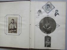 Album Scrapbook 40 photos Vers 1920/30