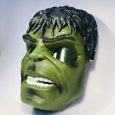 Incredible Hulk Light Up Eyes Green Mask Super Hero Halloween 2008 Marvel Hasbro