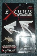@NEW@ QAD Exodus Broadhead 100 grain Fixed Full/Non-Barbed Replacment Blades