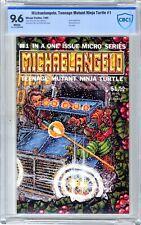 Michaelangelo, Teenage Mutant Ninja Turtle  #1  CBCS  9.6  NM+  1985  Gizmo App.