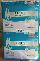 120 Pannoloni LINES SPECIALIST super maxi Sagomati per incontinenza
