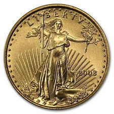 2003 1/10 oz Gold American Eagle BU - SKU #4704