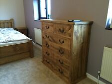 Rustic chest of drawers 6 drawers (can be made any size)