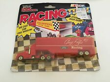 Geoff Bodine #11 Ford Racing 1/87 Scale Transporter Diecast Cab Red - 1991 NIB