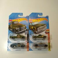 Hot Wheels Lot Of 4 Trucks Truck Chevy Pickup Mazda Repu Sealed 2020-17