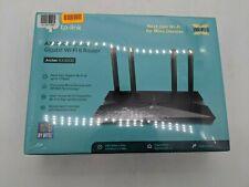 New tp-link Archer AX3000 4-Stream Gigabit Wi-fi 6 Router - JA0762