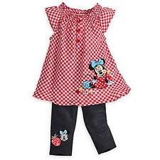 Minnie Mouse Dress and Pants Set for Baby- Size 24 months -NWT Baby Girl Disney