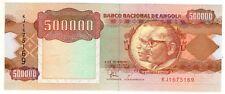 **   ANGOLA     500000  kwanzas   1991   p-134    UNC   **