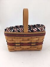 Longaberger 1994 All American Candle Basket Combo