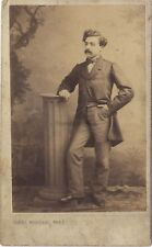 Emille Mourfin ? Photo cdv Cheri Rousseau Saint-Étienne Vintage albumine ca 1860