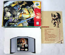 Killer Instinct Gold (Nintendo 64, 1997) N64 Video Game Cartridge Complete + Box
