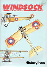 Windsock International V9 N6 Spad Nieuport Roland Zeppelin Werke Staaken Dart