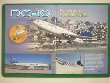2000'S ARTICLE 12 PAGES EN PORTUGAIS DC-10 AIRLINER BRASIL VARIG VASP TRANSAIR