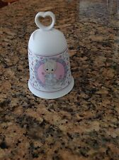 Precious Moments So Glad I Picked You As a Friend Friendship Porcelain Bell