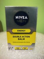 Nivea For Men Energy Double Action After Shave Balm 3.30 oz