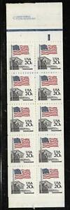 xst605 Scott 1896A US Booklet Stamps 1981 20c Flag over Supreme Court  BK139