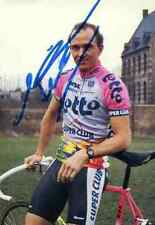 JOHAN MUSEEUW Team LOTTO Signed Autograph cycling Signée cyclisme World Champion