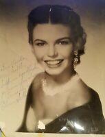 Eileen Schauler Photograph B/W 8X10 Vintage Signed Soprano Singer NYC Opera