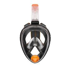 Ocean Reef Aria Full Face Snorkeling Mask Color Black Size L/xl Or018025