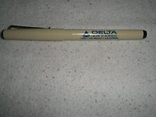 """Delta Airlines Air Cargo 5 1/2"""" Pentel Hi-Roller ex Fine Point from 1980's"""