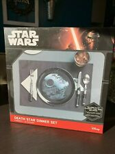 Star Wars Death Star Dinner Set NEW (other) Includes Plate, Fork, Spoon, Knife