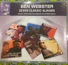 BEN WEBSTER - 7 CLASSIC ALBUMS 4 CD