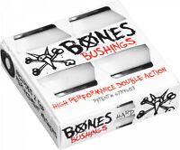 Bones Skateboard Truck Bushings Hardcore Hard 96A White - For 2 Trucks