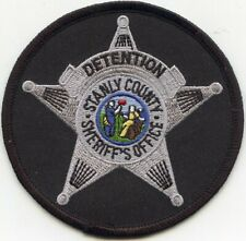 STANLY COUNTY NORTH CAROLINA NC round DOC CORRECTIONS SHERIFF POLICE PATCH