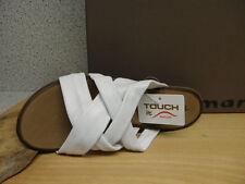 Tamaris Damen-Sandalen & -Badeschuhe-Zehentrenner aus Echtleder