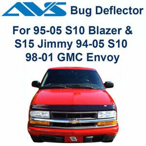 AVS Bugflector Smoke Hood Protector Shield For 94-2005 S10 Jimmy Bravada - 24723