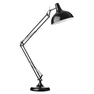 Black Angle Poise Floor Lamp