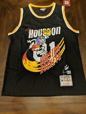 Travis Scott Houston Rockets Black B/R Jack Jersey Men's XL