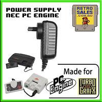 PC Engine TurboGrafx16 Power Supply Adapter Pack AUS Plug CoreGrafx PAD 105 106