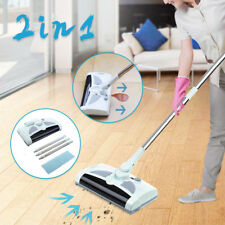 Rechargeable Spin Hand Push Cordless Sweeper Broom Floor Carpet Vacuum