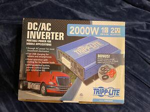Tripp Lite 2000W Power Inverter - Includes Remote - Model PINV2000