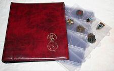Classeurs rangements - Classeur & 5 feuilles couleur rouge K