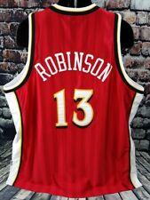 Champion NBA Atlanta Hawks Glenn Robinson Red Authentic Jersey Mens 56 XXXL 3XL