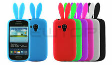 Cover morbida CONIGLIO per SAmsung Galaxy S3 mini i8190 NEWTOP®