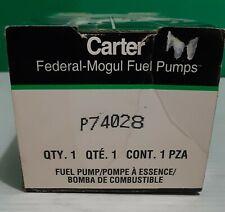 Carter P74028 Electric Fuel Pump