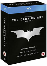 BATMAN THE DARK KNIGHT TRILOGY Begins Rises 1 2 3 Collection Boxset NEW BLU-RAY
