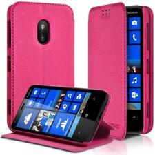 Etui à rabat latéral Support Couleur Rose Fushia pour Nokia Lumia 620 + Film de