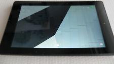 """Amazon Kindle Fire 7"""" 7th Gen x2 Cameras & Micro SD Slot 16GB BLACK VGC F3PD"""