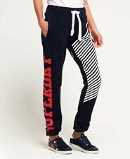 Womens Superdry Navy Big S Joggers Trouser Pants