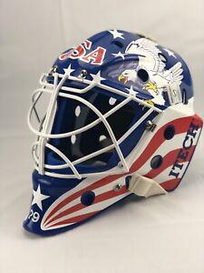 Itech Profile 950 Senior Large Hockey Goalie Mask Helmet  New Everything Refurb