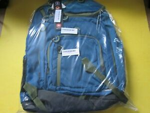 Embark Jartop Elite Backpack Bookbag Extra Large Capacity BLUE/HUNTER GREEN NEW