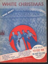 White Christmas Holiday Inn Bing Crosby Fred Astaire Rosemary ClooneySheet Music