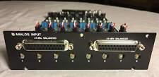 Avid HD I/O AD Analog input Option Card 8 channels - pro tools